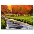 David Lloyd Glover 'Twilight Golf II' Canvas Art