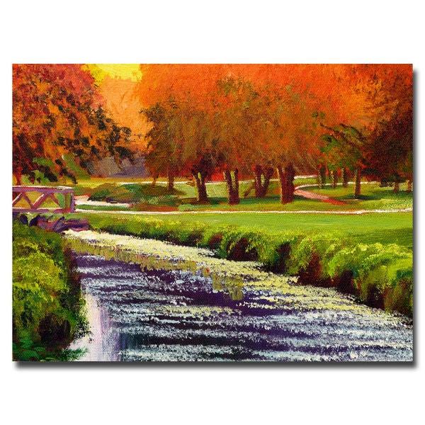 David Lloyd Glover 'Twilight Golf II' Canvas Art