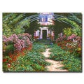 David Lloyd Glover 'Summer in Giverny' Canvas Art