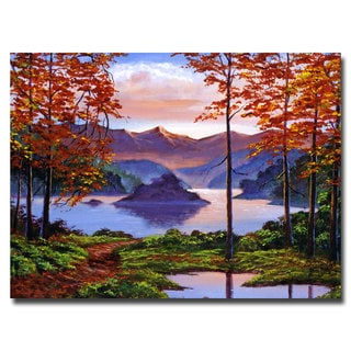 David Lloyd Glover 'Sunset Reverie' Canvas Art