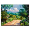 David Lloyd Glover 'The Tuscany Hills' Canvas Art