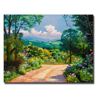 David Lloyd Glover 'The Tuscany Hills' Canvas Art