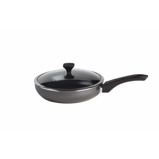 Art & Cuisine Diaz Grey 9.4-inch Lidded Saute Pan