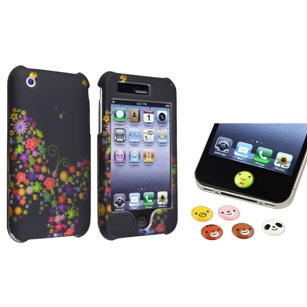 BasAcc Case/ HOME Button Sticker for Apple iPhone 3G/ 3GS