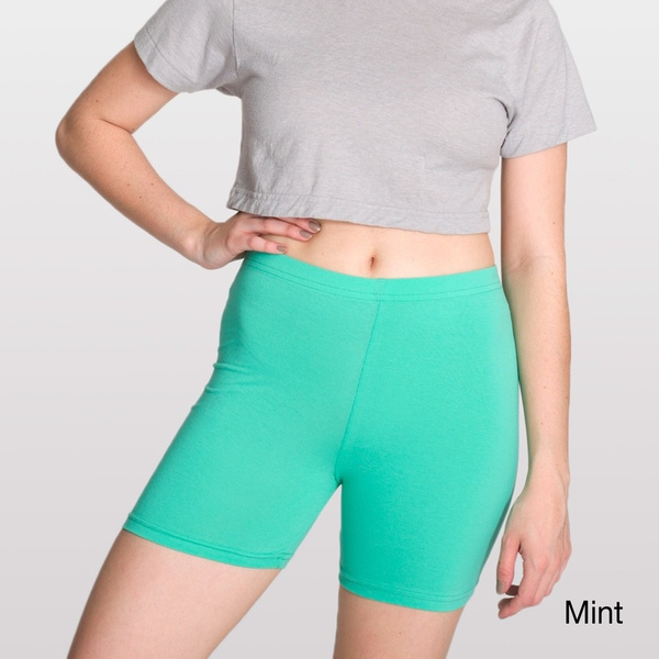 American Apparel Women's Jersey Cycle Shorts