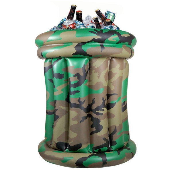 Tango Camo Inflatable Beverage Cooler