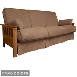 Provo Perfect Sit & Sleep Mission-style Pillow Top Full Sofa Bed