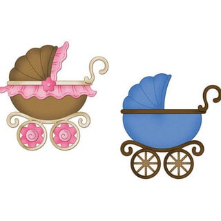 "CottageCutz Die 4""X4""-Baby Buggy"