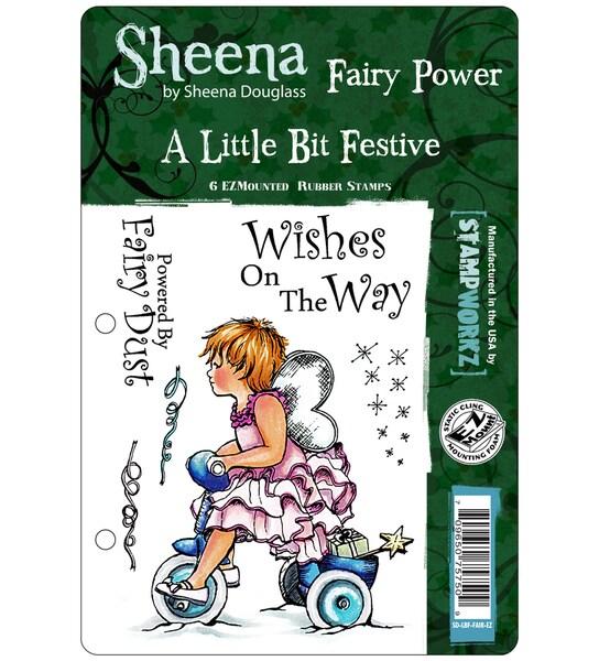 "Sheena Douglas Unmounted Stamp Set 5-1/2""X8-1/2""-Fairy Power"