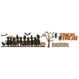 Sizzix Sizzlits Decorative Strip Die By Tim Holtz-Halloween Shadows
