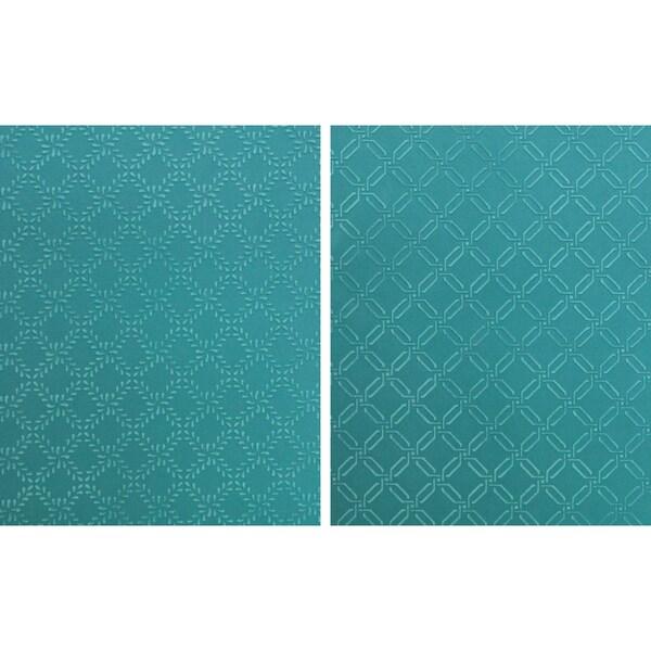 Spellbinders M-Bossabilities A4 Paper Embossing Folder-Garden Lattice