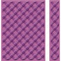 "Cuttlebug 5""X7"" Embossing Folder/Border Set-Geometric Rings"