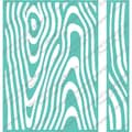 "Cuttlebug 5""X7"" Embossing Folder/Border Set-Wood Grain"