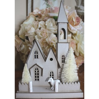DIY Chipboard House Kit-Large Church
