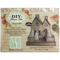 DIY Chipboard House Kit-Twin Peaks