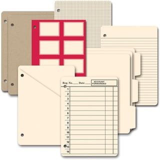 Die-Cut Chipboard Journal-