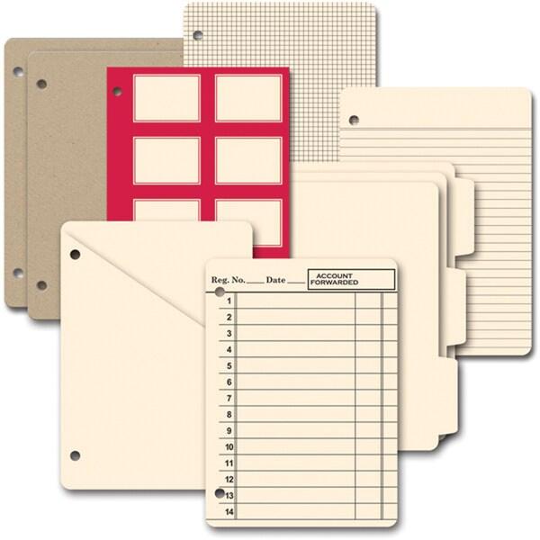 Die-Cut Chipboard Journal-