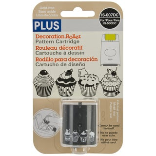 Decoration Roller Refill 54 Yards/Pkg-Cupcakes
