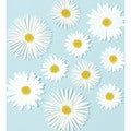 Martha Stewart 3D Stickers-Daisy