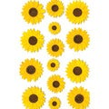 Martha Stewart Stickers-Sunflower