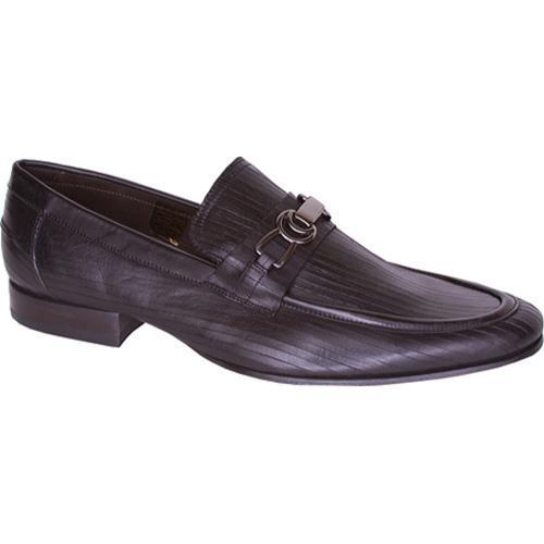 Men's Giovanni Marquez Grafiato 40503 Black Leather