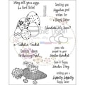 "Clear Stamps 6""X8""-Bunny Trail"