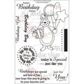 "Clear Stamps 4""X6""-Hip Hip Hooray"