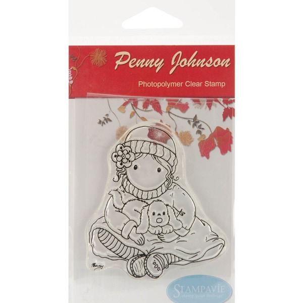 """Stampavie Penny Johnson Clear Stamp-Gretchen's Puppy 3-1/2"""""""
