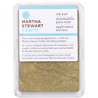 Martha Stewart Ink Pad-Gold