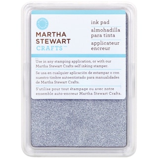 Martha Stewart Ink Pad-Sterling