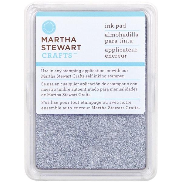 Martha Stewart Ink Pad-Sterling