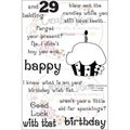 "Clear Stamps 4""X6""-Sassy Happy Birthday"