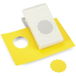 """Nesting Paper Punch-Scallop Circle 1.5"""""""