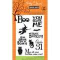 "Hero Arts Clear Stamps 4""x6"" Sheet-You Scare Me"