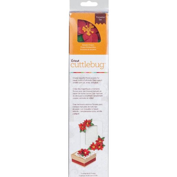 Cricut Cuttlebug Quilling Kit-Poinsettia