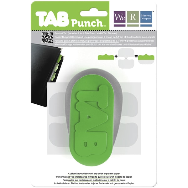 Tab Punch-Bracket, 2""