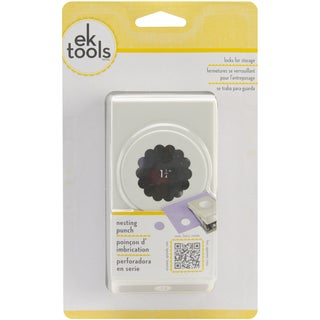 """Nesting Paper Punch-Scallop Circle 1.25"""""""