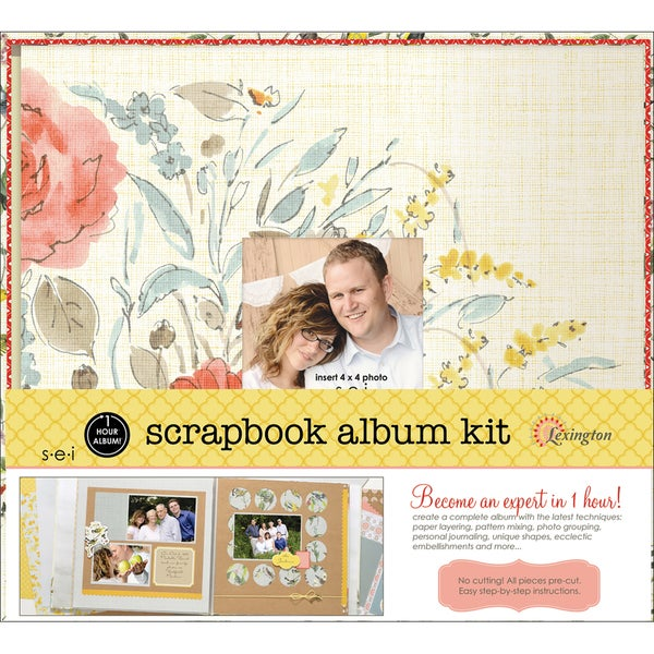 "1 Hour Album Scrapbook Kit 12""X12""-Lexington"