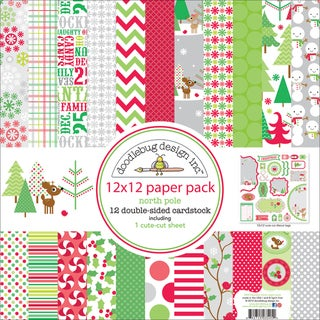 Christmas Paper Pack 12