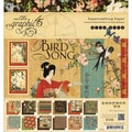 Bird Song Double-Sided Paper Pad 8