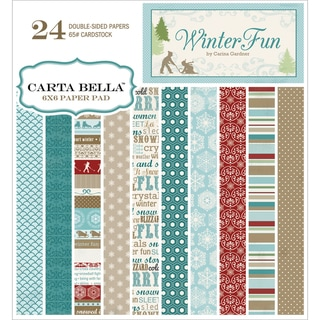 Winter Fun Double-Sided Cardstock Pad 6