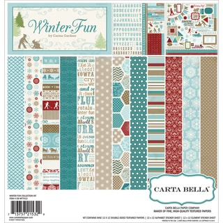 Winter Fun Collection Kit 12