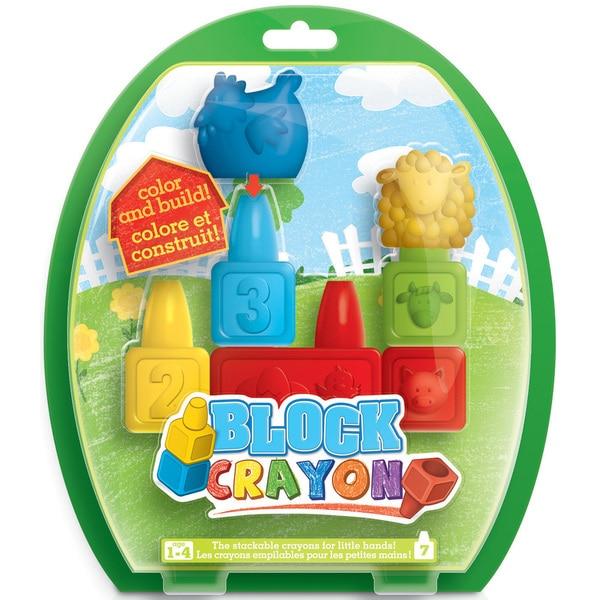 Block Crayon Set 7/Pkg-Small
