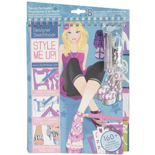 Style Me Up Trendy Footware Sketchbook-
