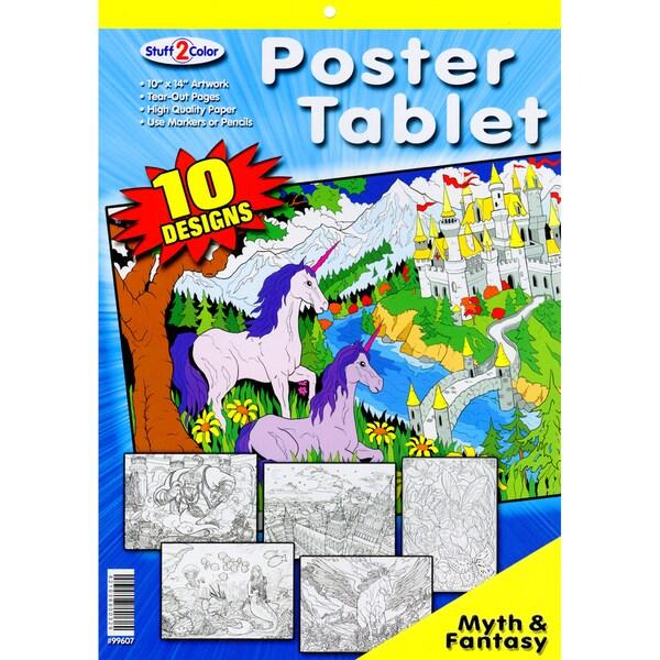 Line Art Tablet 10 Designs/Pkg-Mythical