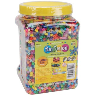 Perler Fun Fusion Beads 11,000/Pkg-Multi Mix