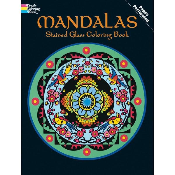 dover publicationsmandalas stained glass color b