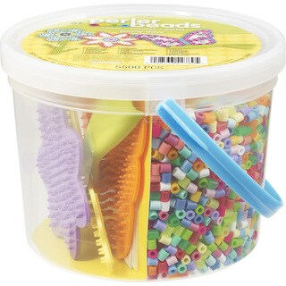 Perler Fun Fusion Fuse Bead Activity Bucket-Sunny Days