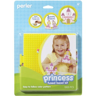 Perler Fun Fusion Fuse Bead Activity Kit-Princess