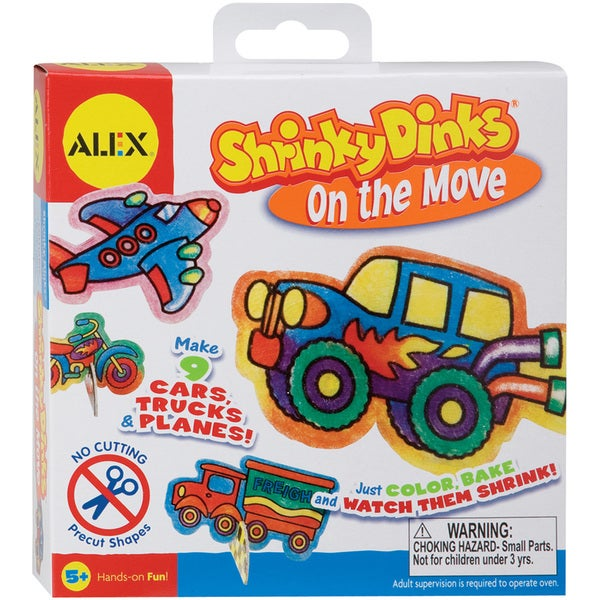 Shrinky Dink Activity Kits-On The Move